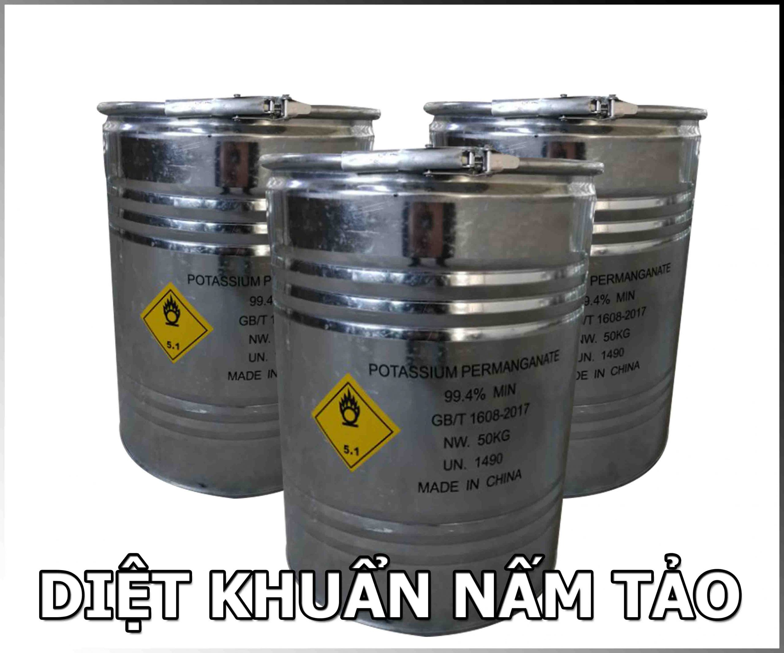 KMNO4, THUỐC TÍM, POTASSIUM PERMANGANATE