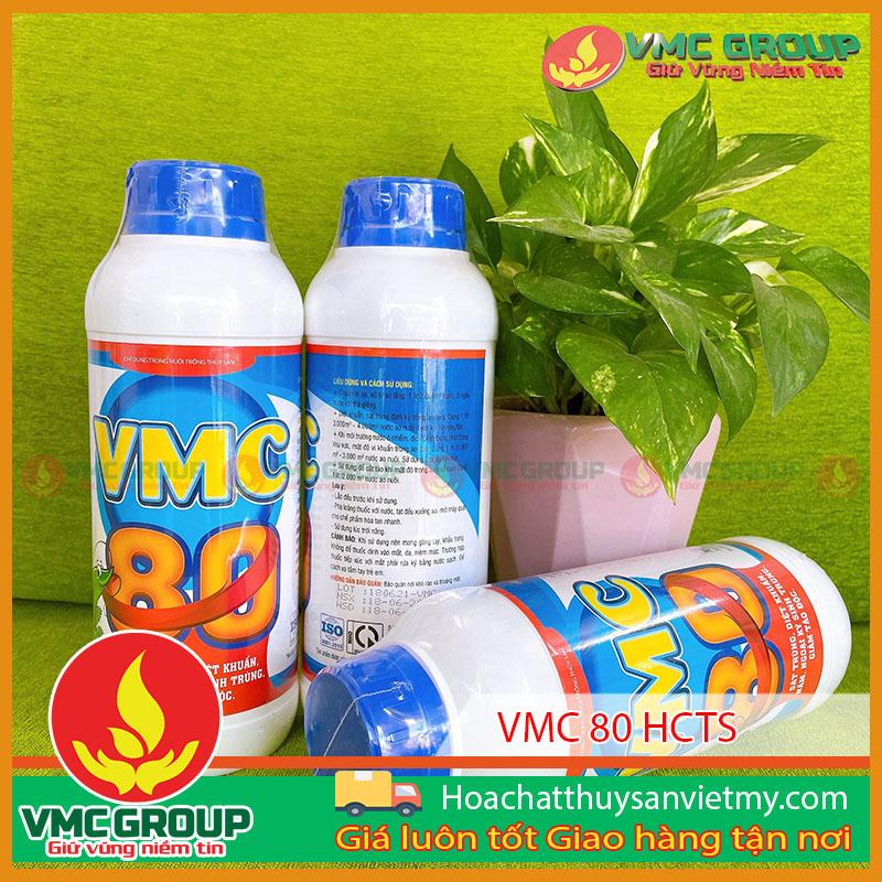 B�N VMC 80 S�T TRÙNG, DIỆT KHUẨN NẤM, NGOẠI K� SINH TRÙNG, GIẢM TẢO �ỘC TRONG THỦY SẢN